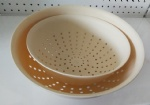 Bowl with sieve